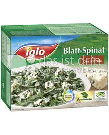 Produktabbildung: iglo Blatt-Spinat mit Gorgonzola 300 g