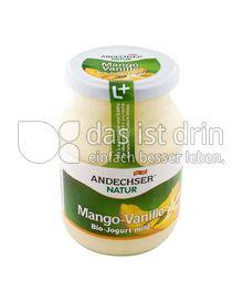 Produktabbildung: Andechser Bio-Jogurt mild, Mango-Vanille 3,7% 500 g