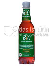 Produktabbildung: BiO Erfrischungsgetränk Holunder Cranberry Geschmack 0,5 l