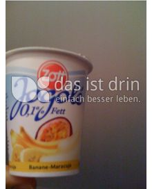 Produktabbildung: Zott Jogolé Banane-Maracuja 150 g