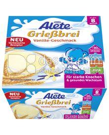 Produktabbildung: Nestlé Alete Grießbrei Vanille-Geschmack 400 g