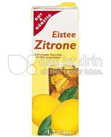 Produktabbildung: Gut & Günstig Eistee Zitrone 1,5 l