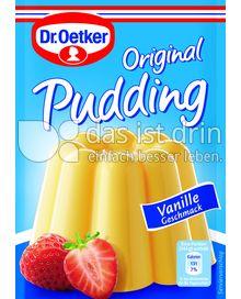 Produktabbildung: Dr. Oetker Original Pudding Vanille-Geschmack 111 g