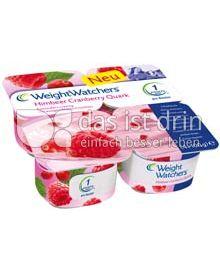 Produktabbildung: Weight Watchers Quark Himbeer Cranberry 4 St.