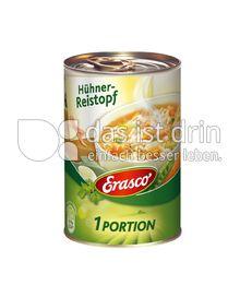 Produktabbildung: Erasco Hühner-Reistopf 400 g