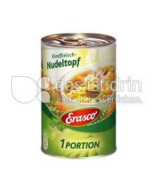 Produktabbildung: Erasco Rindfleisch-Nudeltopf 400 g