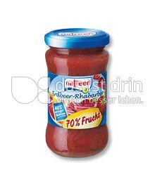 Produktabbildung: natreen Fruchtaufstrich Erdbeer-Rhabarber 225 g