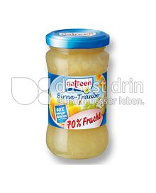 Produktabbildung: natreen Fruchtaufstrich Birne-Traube 225 g