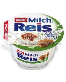 Produktabbildung: Müller Milchreis Nuss 200 g