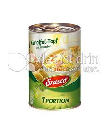 Produktabbildung: Erasco Kartoffel-Topf mit Würstchen 400 g