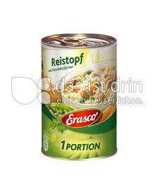 Produktabbildung: Erasco Reistopf mit Fleischklößchen 400 g