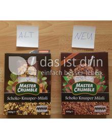 Produktabbildung: Master Crumble Schoko-Knusper-Müsli 600 g