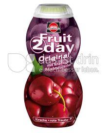 Produktabbildung: Schwartau Fruit2day Original Kirsche - rote Traube 200 ml