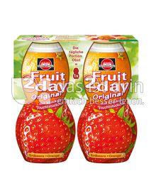 Produktabbildung: Schwartau Fruit2day Original Erdbeere - Orange 400 ml