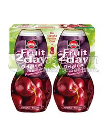 Produktabbildung: Schwartau Fruit2day Original Kirsche - rote Traube 400 ml