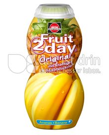 Produktabbildung: Schwartau Fruit2day Original Ananas - Banane 200 ml