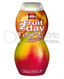 Produktabbildung: Schwartau Fruit2day Original Mango - Pfirsich 200 ml
