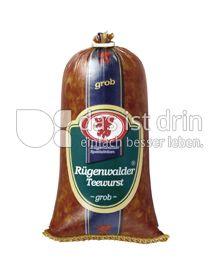 Produktabbildung: Rügenwalder Plüntsch Teewurst grob 250 g