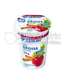 Produktabbildung: Bauer Der grosse Bauer Apfel-Birne-Zimt 250 ml