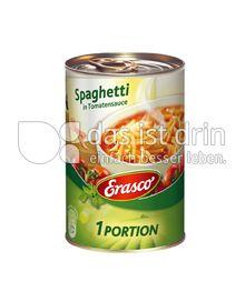 Produktabbildung: Erasco Spaghetti in Tomatensauce 400 g