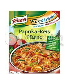 Produktabbildung: Knorr Paprika -Reis Pfanne 51 g
