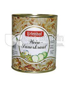 Produktabbildung: Erlenhof Wein-Sauerkraut 810 g