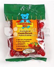 Produktabbildung: Fruchtgummi-Welt Cassis 300 g
