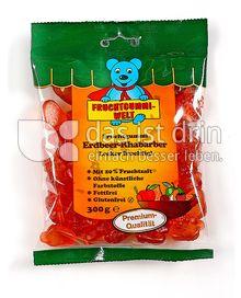 Produktabbildung: Fruchtgummi-Welt Erdbeer Rhabarber 300 g