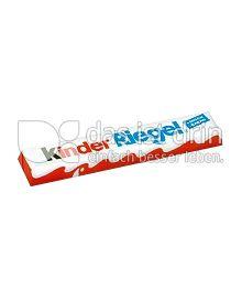Produktabbildung: Ferrero Kinder Riegel 21 g