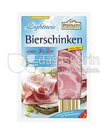 Produktabbildung: PONNATH Lightness Bierschinken 100 g