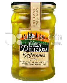Produktabbildung: Casa Deliziosa Pfefferonen grün 270 g