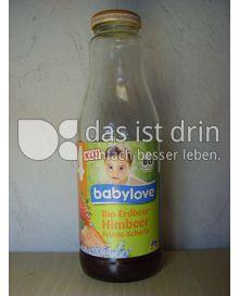 Produktabbildung: Babylove Bio-Erdbeer Himbeer Frucht-Schorle 500 ml